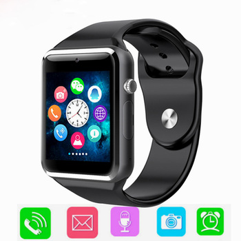 цена на Sports Bluetooth Smart Watch Men Sync Notifier Support SIM TF Connectivity for Android Phone Watch Camera Smartwatch