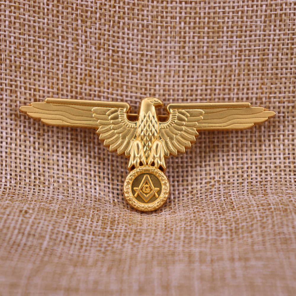 Masoński Pin Badge