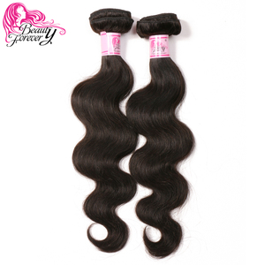 Image 3 - Beauty Forever Body Wave Indian Hair Weft Remy Human Hair Weave Bundles Natural Color 8 30 inch Free Shipping