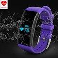 Impermeable Monitor de Ritmo Cardíaco Pulseras Inteligentes de Natación Gimnasio Rastreador Pulsera Bluetooth Pulsera para Android iOS Inteligente Banda