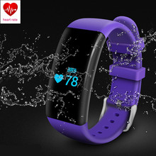 Waterproof Heart Rate Monitor Smart Wristbands Swim Fitness Tracker Bracelet Bluetooth Wristband for Android iOS Smart Band