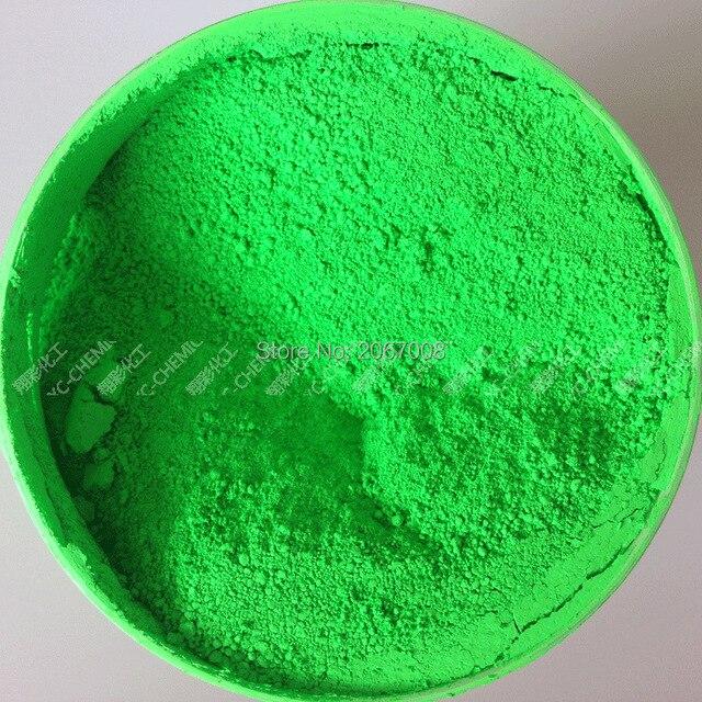 Verde de NEÓN de Color Fluorescente Brillante Polvo de Fósforo ...