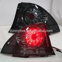 1998 2005 Year LED Tail Lamp RearlightsBlack Smoke Color for Lexus IS200 IS300 SN