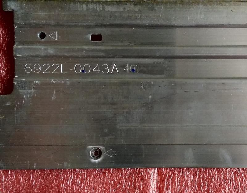 Image 5 - Новая светодиодная лента с подсветкой, 2 шт. * 66LED 597 мм, 47  дюймовый V13 6920 0001C 6916L1009A 6916L1009B для KDL 47R500A 6922L  0043A 0065Astripstrip ledstrip a led
