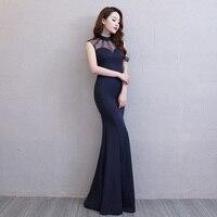 Floor Length Full Manual Gauzy Sexy Star Full Prom Evening Dresses 2018 Cocktail Dress Night Entertainment