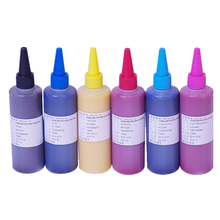 6 Colors Sublimation Ink for Epson Universal CISS 100ml/bottle,Photo print with sublimation paper heat transfer