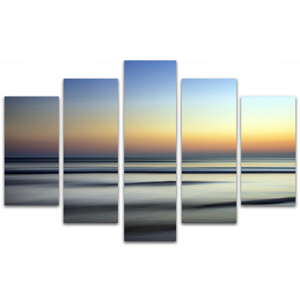 Unframed Canvas Painting Sea Level Sky Photo Picture Prints Wall Picture For Living Room Wall Art Decoration