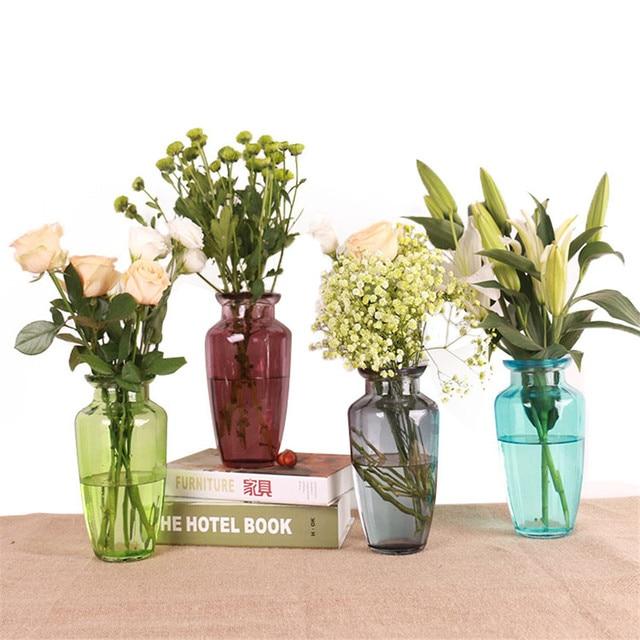 Transparent Glass Vase Home Decoration Vases Terrarium Succulents
