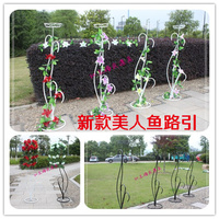 Wedding Iron Road Lead Wedding Flower Rack Wedding Flower Stand For Party Decoration 10pcs Lot