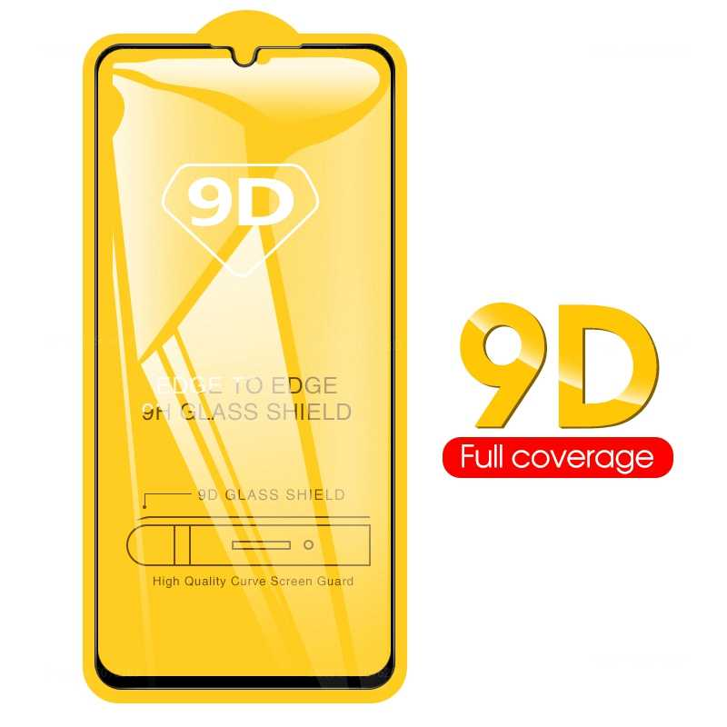 9D Full Cover Tempered Glass For Huawei P Smart Plus 2019 P Smart Z Mate 30 20 P30 Lite Screen Protector Protective Glass