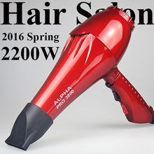 Ceramic Ionic ALPHA Pro 3800 Professional Hair Dryer for Hair Salon Fast Styling Blow Dryer Long Life AC Motor 12 Month Warranty