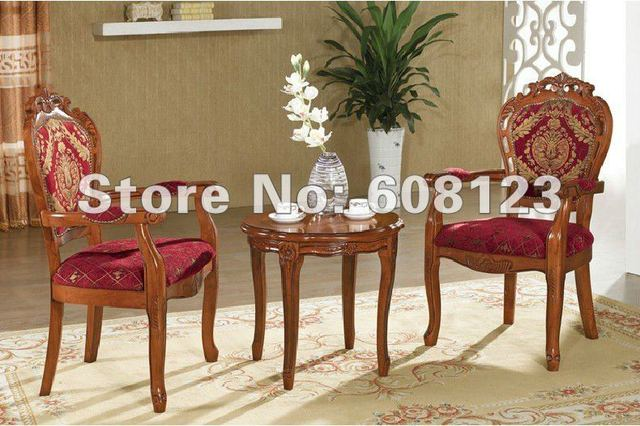 High Quality Europ Style Oak Kitchen Chairs,hot Selling Pastoral Ethnic  Dining Room Furniture Leisure