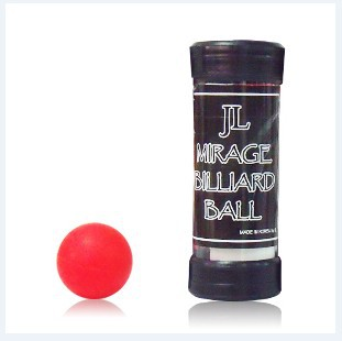 Free shipping JL South Korea one ball to four authentic South Korea imported ball large red ball magic tricks magic props perfect silk to ball red automatic ver3 trick silk magic ball magic magic tricks fire props comedy mental magic