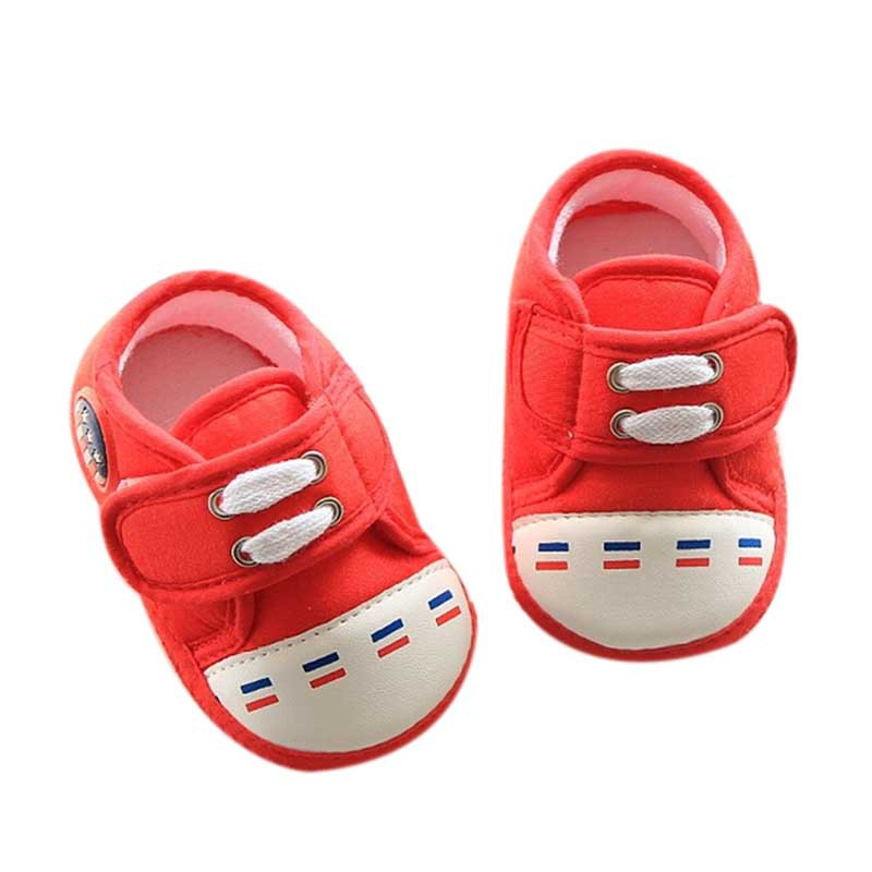 0-12M High Quality Baby Boys Girl Shoes Cotton Infant Soft Sole Baby First Walker Toddler Shoes Baby Boys Anti-slid Shoes