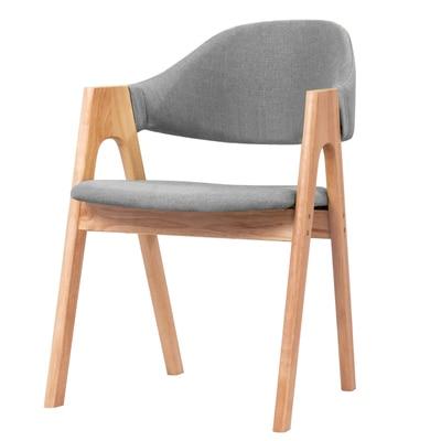 Стул принцессы из цельного дерева в скандинавском Роге, современный стул в стиле минимализм - Цвет: 22