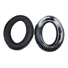 1 Пара амбушюры для наушников, накладки для наушников, мягкий пенопласт, пенопласт, замена подушки для наушников Sennheiser PXC450 PXC350 PC350 HD380 PRO