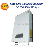 MPPT Grid Tie Inverter 5000W 5KW Connected Grid Inverter With AC220 230 240V Output Pure Sine