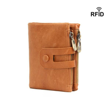 Genuine Leather Men Wallets Credit Business Card Holders Double Zipper Cowhide Leather Wallet Purse Coin Pocket Photo CardHolder rfid crazy horse genuine leather men wallets credit business card holders double zipper cowhide leather wallet purse carteira