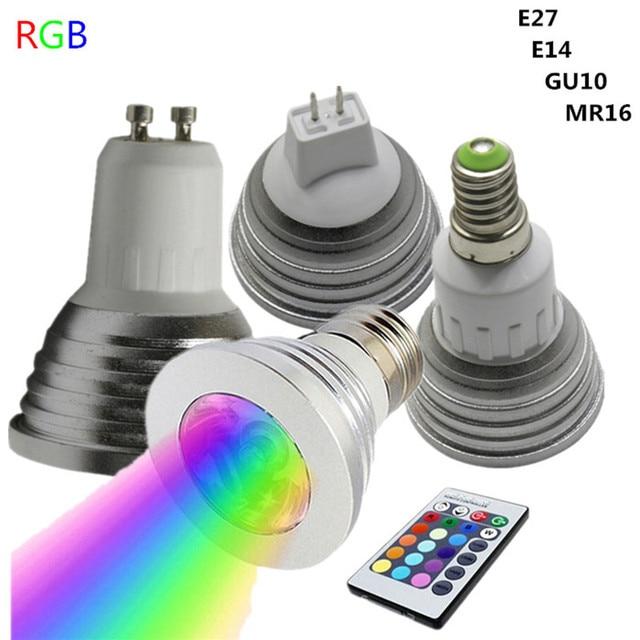 spot led couleur
