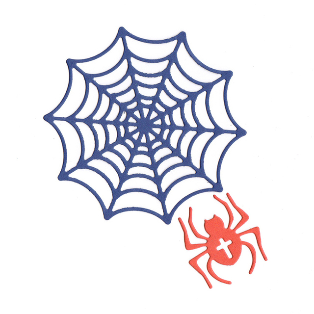 Spider Web Template Metal Cutting S Embossing Folder Stencil Diy Sbooking Al Paper Card