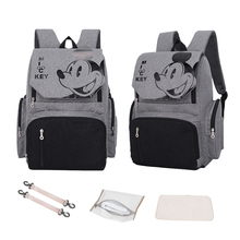 Disney Diaper Bag backpack Maternity Nappy Nursing for Baby Care Travel Backpack cute Mickey Minnie mummy Handbag