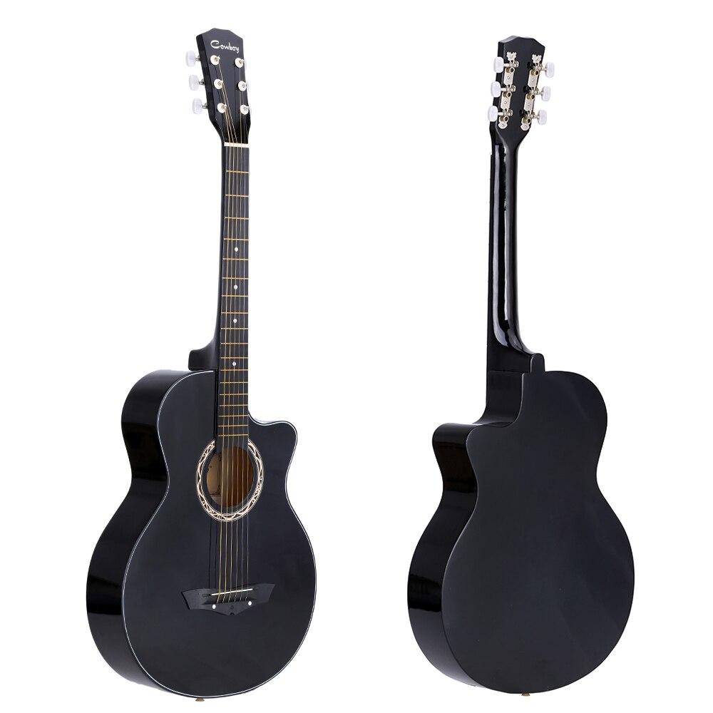 high quality 38 guitar guitarra acoustic folk guitar basswood 6 string guitar for students. Black Bedroom Furniture Sets. Home Design Ideas