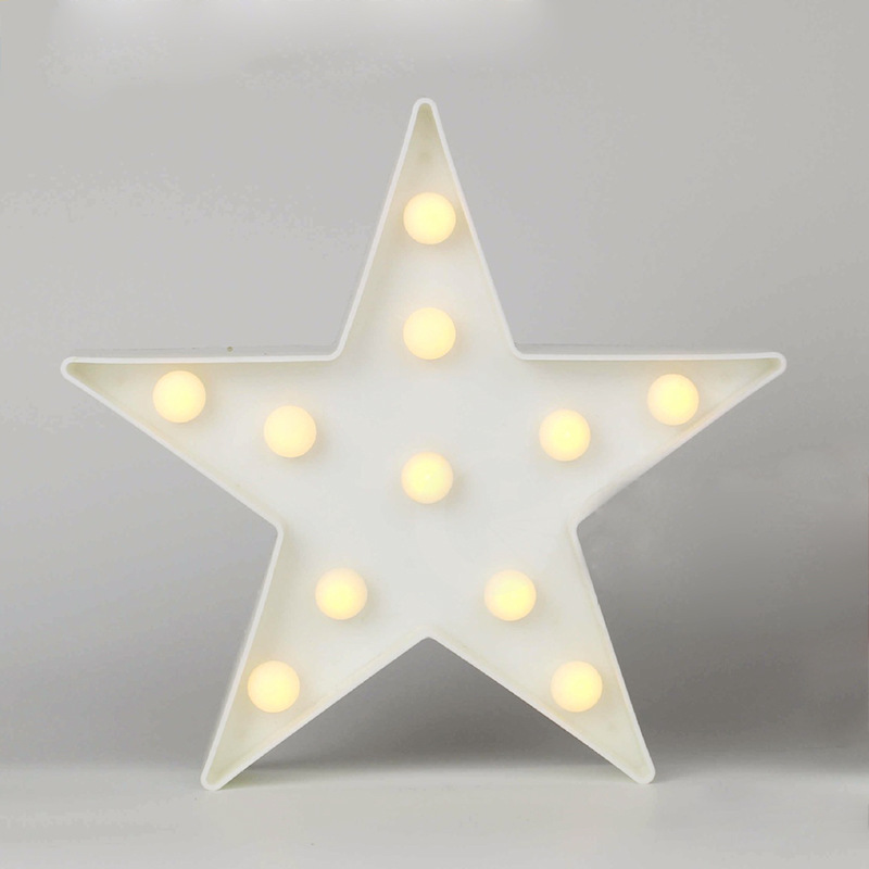 Nordic 3D LED Star Moon Christmas Tree Cloud Nightlight for Kids Room Decoration Photo props Children Light Christmas Gift in Figurines Miniatures from Home Garden