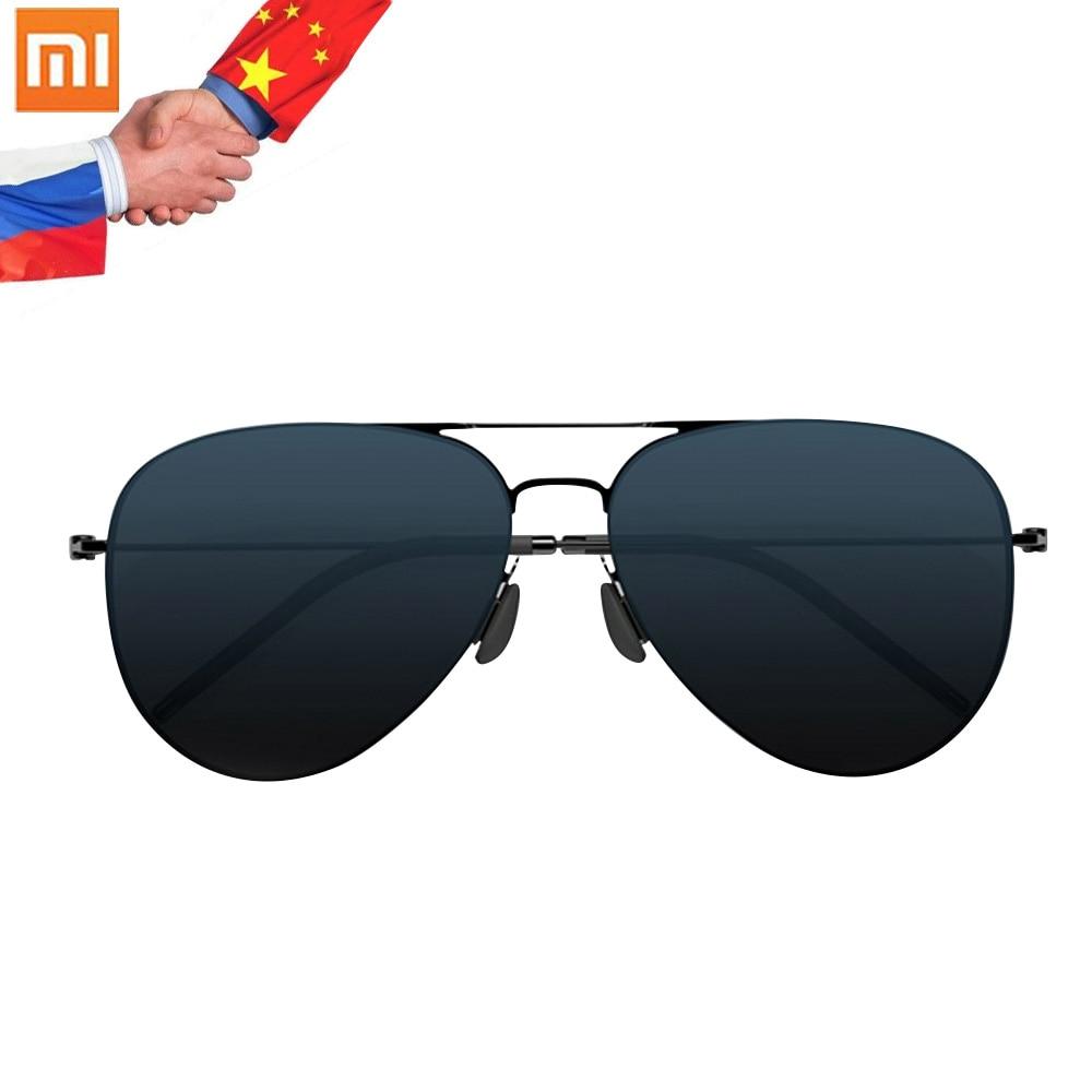 imágenes para Xiaomi TS Marca Nylon Inoxidable Polarizadas Lentes de Sol Gafas de sol 100% UV Aislamiento Colorido Xiaomi Mijia Gafas de Sol Mujer Hombre
