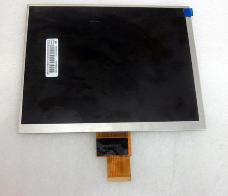 Cable number KD080D340NBA1 8 inch LCD screen tablet computer screen 1024*768 resolutionCable number KD080D340NBA1 8 inch LCD screen tablet computer screen 1024*768 resolution