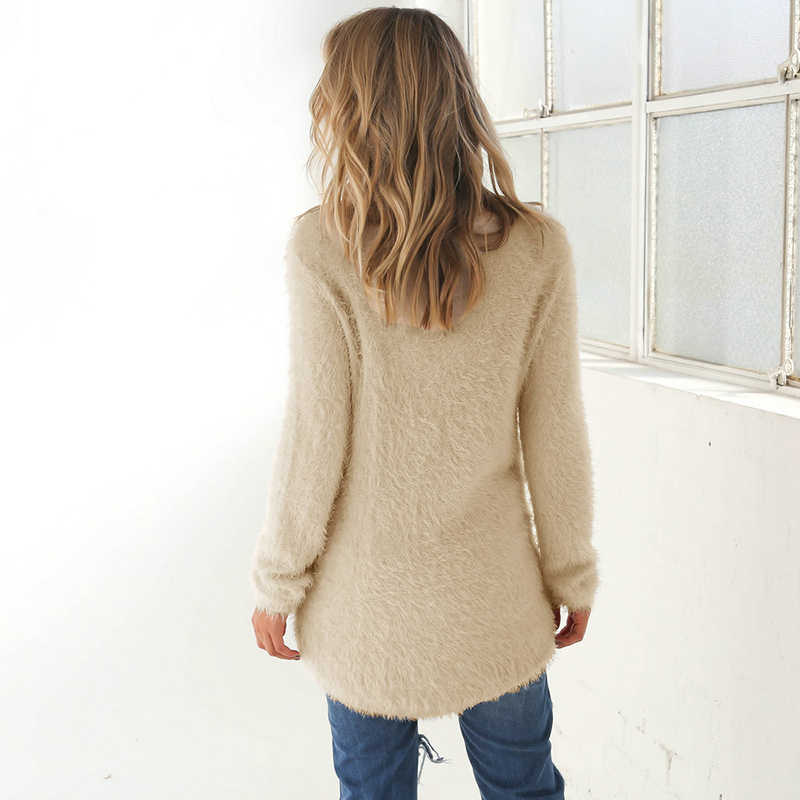 2019 Autumn Winter Sweater Women oversized Pullovers Jumper Casual black pink Sweaters Warm Female Clothes top pull femme BDR87