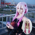 Mcoser Women Party Sexy SWEET 70cm Long Guilty Crown-Yuzuriha Inori Pink Cosplay Costume Wig Peluca perruque parrucca Wigs
