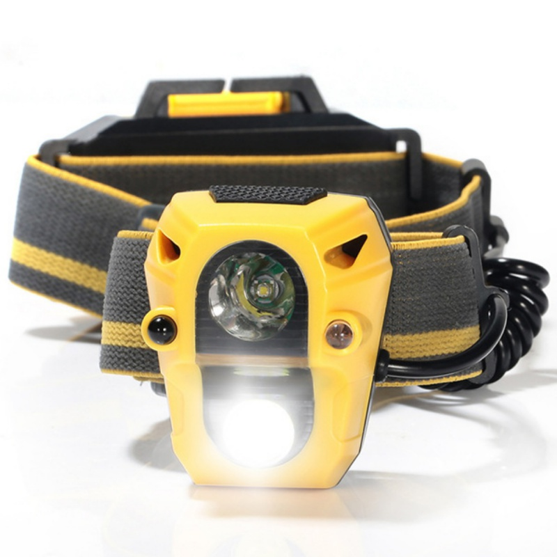 1 pcs Rechargeable Induction Headlight Light Mini COB LED Headlight Head Torch Cable Built-in Battery Flashlight  Outdoor Tools