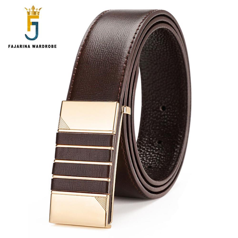 Fajarina Genuine Leather Belt Men High Quality Mens Belts Designer Tempered Glass Premium Screen Protector 9h Untuk Samsung J3 Pro Free I Ringclear Smooth Buckle Waist For Fashion Brand Lufj353