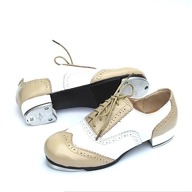 a807feeaeb Sapatos De Sapateado de Couro genuíno Mulher Sapatos de Dança de ...