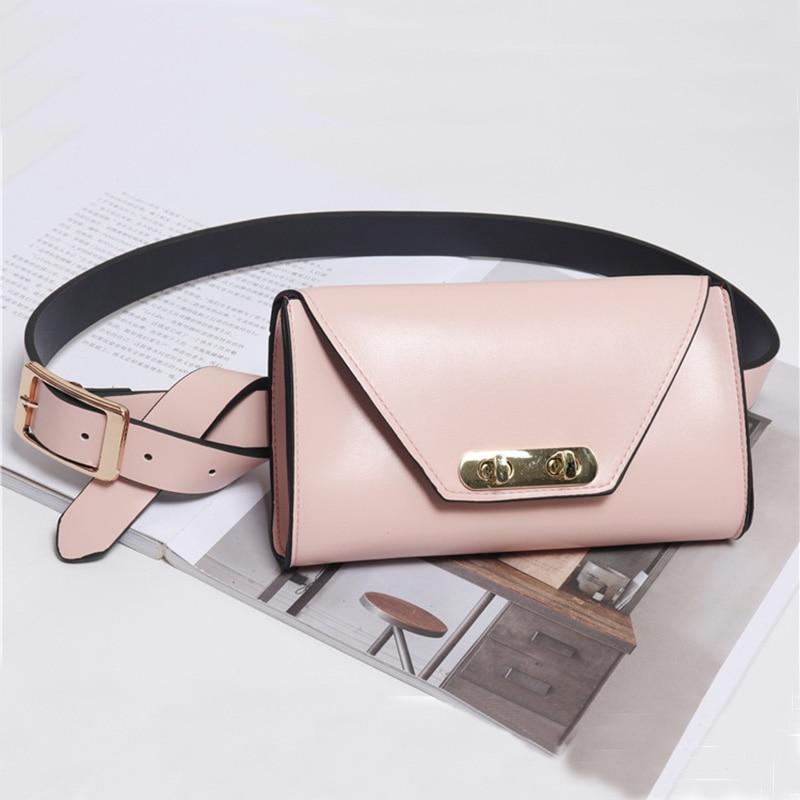 Women Belt Bag Leather Fanny Pack Female Travel Waist Bag Mini Waist Pack For Women Phone Bags Messenger Purse