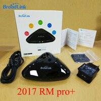 Broadlink RM PRO + RM33 Evrensel Akıllı Uzaktan Kumanda Akıllı Ev Otomasyonu WiFi + IR + RF IOS Için Anahtarı Android Telefon
