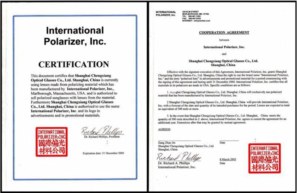 polarized certificate