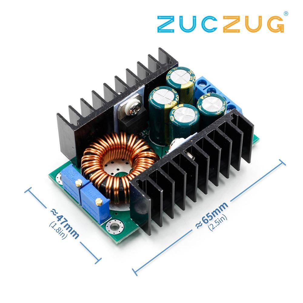 DC/CC Регулируемый 0,2-9A 300 Вт понижающий преобразователь 5-40 В до 1,2-35 в модуль питания Светодиодный драйвер для Arduino 300 Вт XL4016