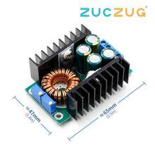 DC/CC 가변 0.2  9A 300w 스텝 다운 벅 컨버터 Arduino 1.2 w XL4016 용 5 40V ~ 300 35V 전원 공급 장치 모듈 LED 드라이버