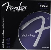 Fender 7350 rvs rond omwonden lange schaal elektrische basgitaar snaren, 7350 M 7350 ML