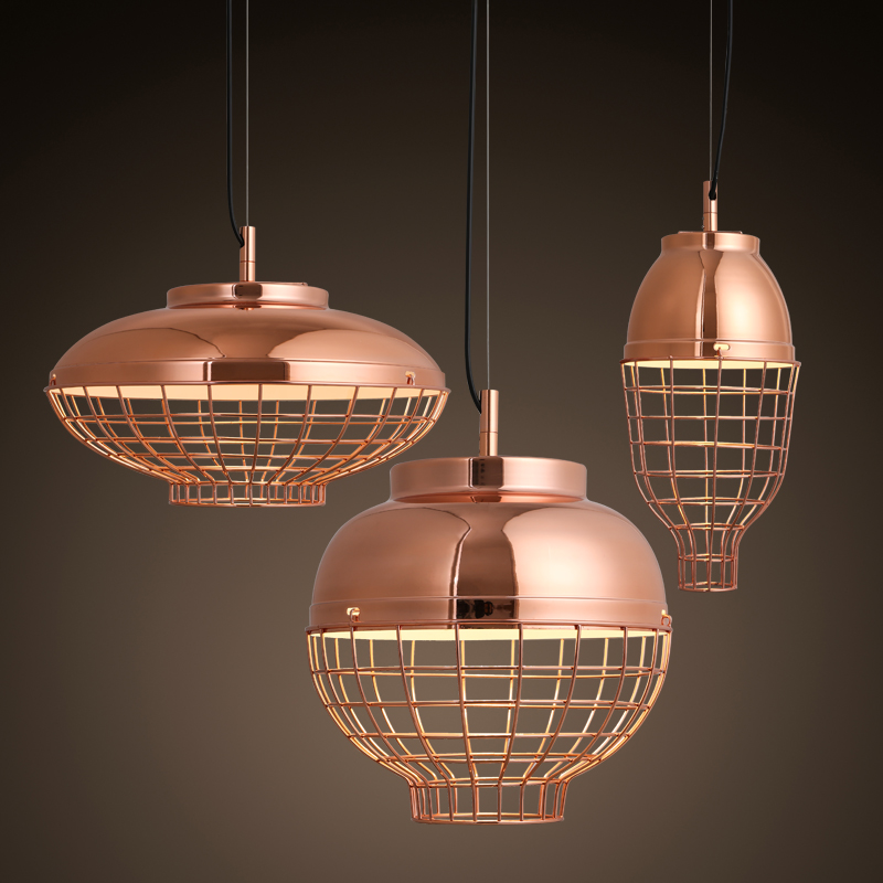American Country Industrial Vintage Iron Pendant Lamp Cage Shade Loft Style Hallway Dining Room Retro Light Free Shipping american edison loft style rope retro pendant light fixtures for dining room iron hanging lamp vintage industrial lighting