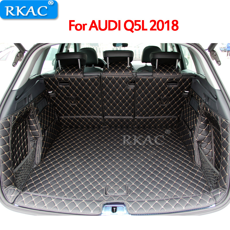 Car Styling For Audi Q5 Q5L 2018 2019 Car Boot Mat Rear Trunk Liner Cargo Floor Carpet Tray Protector Accessories Dog Pet CoversCar Styling For Audi Q5 Q5L 2018 2019 Car Boot Mat Rear Trunk Liner Cargo Floor Carpet Tray Protector Accessories Dog Pet Covers