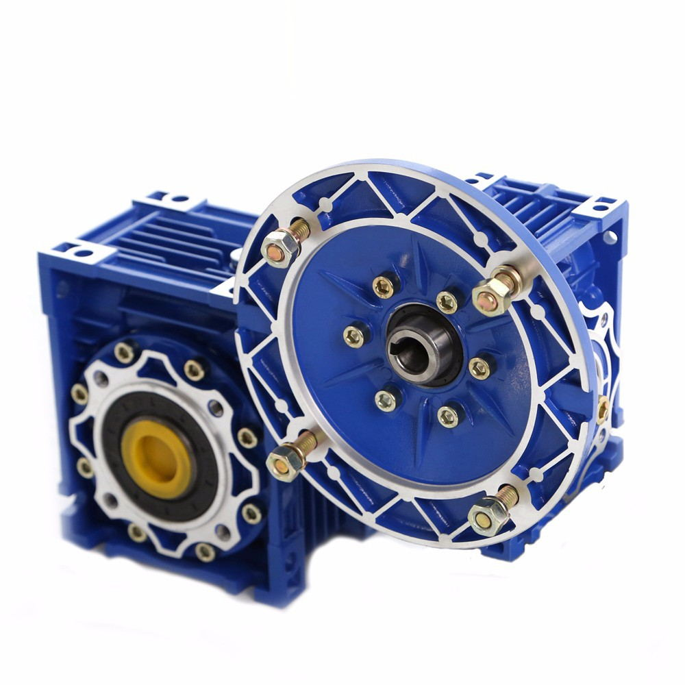 Ratio 56.25:1-1000: 1 Torque 123-21885N.M Turbine worm reducer Two-stage reducer NMRV50 / 63 Input hole 11mm or 14mm or 19mm imlight linea stage 1000
