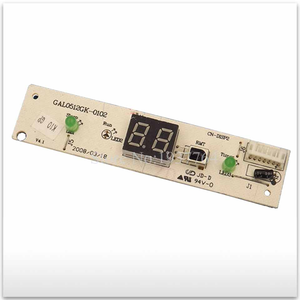 used original for air conditioning Computer board control board Display panel GAL0512GK-0102 95% new for galanz air conditioning computer board gal0903gk 01 display panel gal0512gk 0102 set