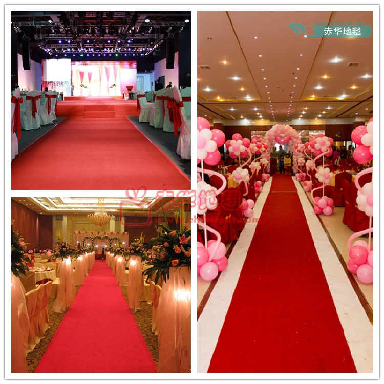 1m width 20m wedding decoration long red carpet wedding. Black Bedroom Furniture Sets. Home Design Ideas