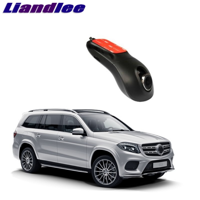 Liandlee For Mercedes Benz GL GLS MB X166 2013~2018 Car Black Box WiFi DVR Dash Camera Driving Video Recorder