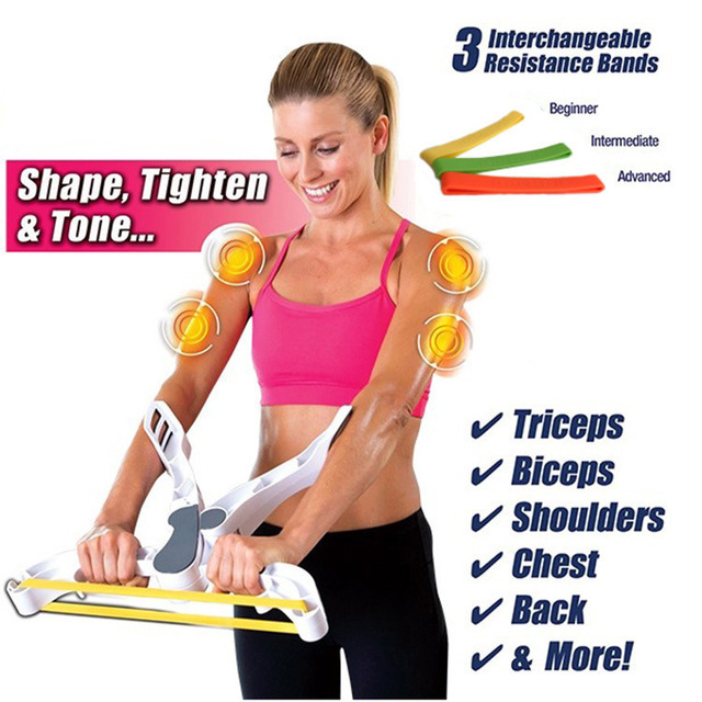 HANRIVER The new reduced fat slimming massager home portable muscle exercise machine throwing arm cable machine