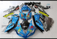 Complete Fairings For Yamaha yzf R1 2007 2008 ABS Plastic Kit Injection Motorcycle Fairing SHA r1 2007 2008 sha
