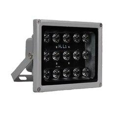 100 м ИК расстояние 15 светодиодный s ИК осветители ИК инфракрасный светильник Светодиодный CCTV камера ночного видения ИК заполняющий светильн...