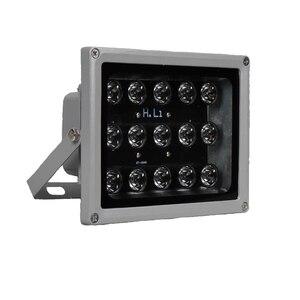 Image 1 - 100m IR mesafe 15 Leds IR aydınlatıcı IR kızılötesi ışık LED güvenlik kamerası gece görüş IR için ışık doldurun CCTV güvenlik kamera